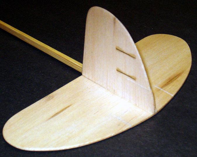 Airfield Models Graupner Mini A Free Flight Balsa Wood Glider