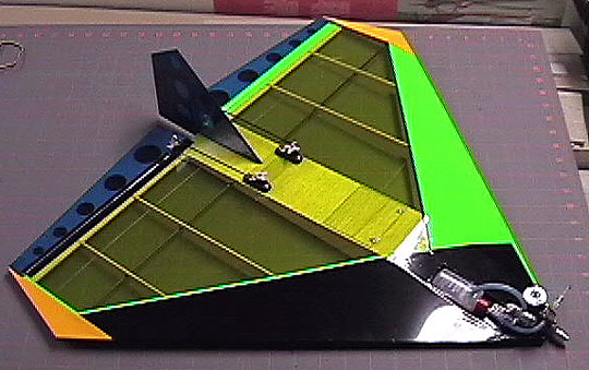 Airfield Models Jgrc Aggressor Radio Control Delta Flying Wing