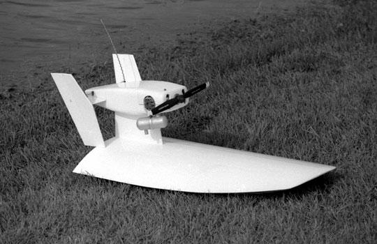 Airfield Models - Marsh Hawk Radio Control Airboat