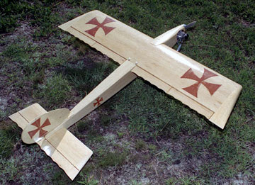Airfield Models - Styles of Model Aircraft Wing Construction