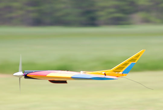 Airfield Models Thwing Radio Control Delta Flying Wing