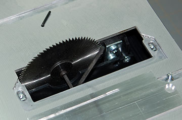 Airfield Models - Microlux Tilting Arbor Table Saw